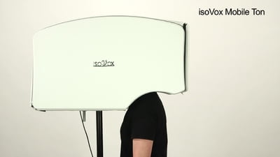 Isovox Mobile Vocal Booth V2