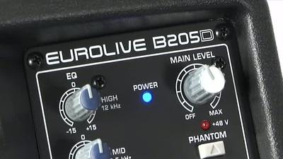 Behringer B205D aktiver Monitor