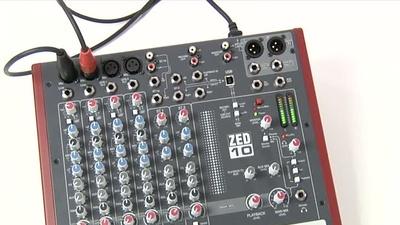 Allen&Heath ZED-10 Kleinmixer