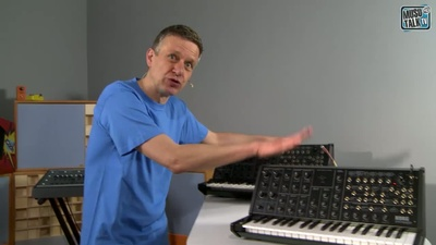 Korg MS 20 Mini Test - MusoTalk.TV