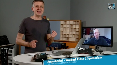 Waldorf Pulse 2 Analogsynthesizer - MusoTalk.TV