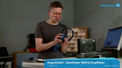 Sennheiser HD 8 Kopfhörer für DJs und Produzenten - MusoTalk.TV